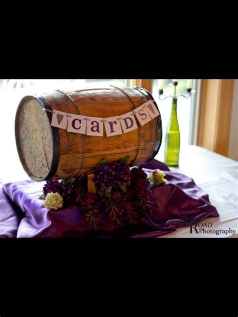 wine barrel wedding card holder wine barrel card holder my italian winery wedding ideas