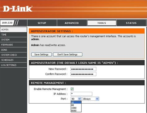 DIR-330 | Dlink products Configuration And Installation On ... D'link Router Password