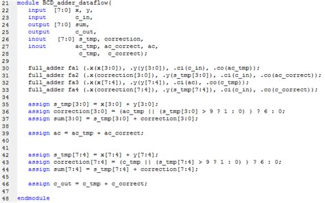 quote on working two digit bcd adder embdev net