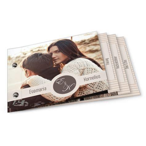 Hochzeitseinladungen Speziell by Hochzeitseinladung Booklet Vintage Streifenlook In