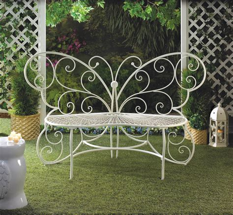 outdoor plant bench butterfly garden bench wholesale at koehler home decor