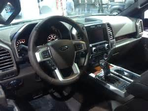 2015 Ford F150 Interior 2015 Ford F 150 Is Now 700lbs Lighter And Available