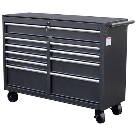 wen 52 in 10 drawer tool cabinet 74560 the home depot