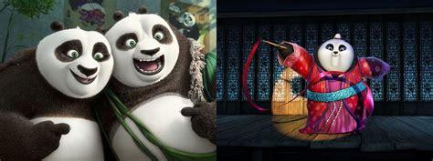 imagenes de kung fu panda y su papa primeras im 225 genes de kung fu panda 3 con po y su