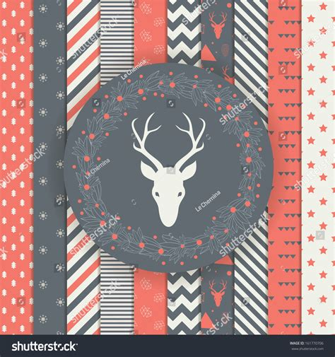 christmas patterns modern set of christmas and new year s backgrounds black and