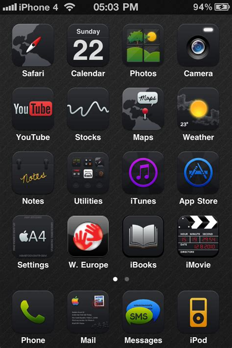 top black themes cydia top free cydia themes for iphone black ups darkness hd