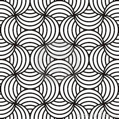 pattern design line art black white swirling design stock images image 18261704