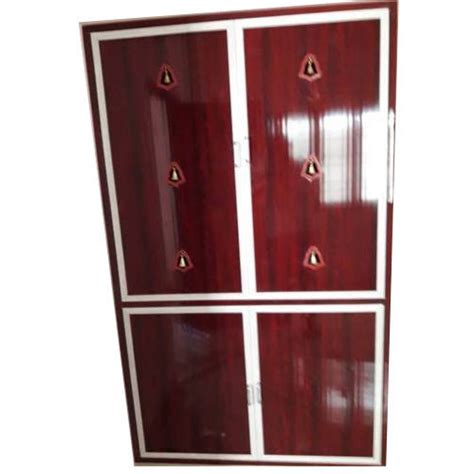 mahogany pvc pooja room doors rs  square feet global