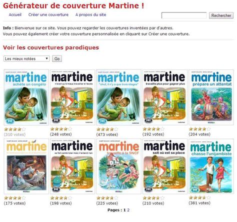 le retour du g 233 n 233 rateur de couvertures des albums de martine