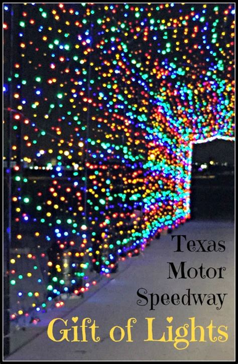 gift of lights motor speedway motor speedway gift of lights a must see for