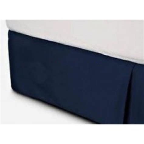 navy blue bed skirt linens n curtains home improvement and decor