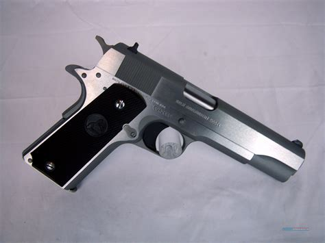 1991 colt government 45acp stainless colt government 1991 series 45acp 5 quot stainless for sale
