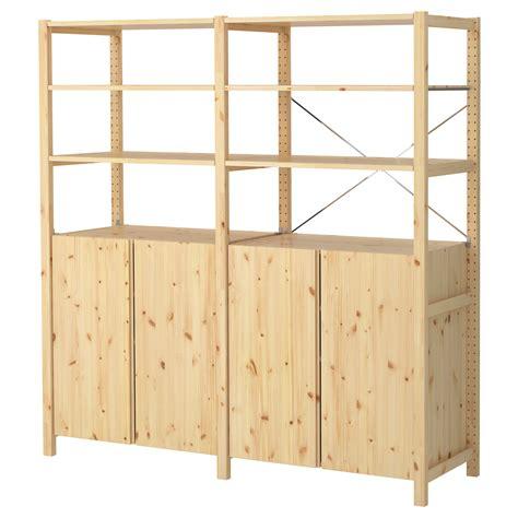 Ivar cabinets ivar 2 sections shelves cabinet pine 174x50x179 cm ikea