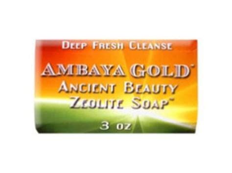 zeolite hydration ambaya gold ancient orme zeolite soap green