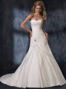 Dresses online taffeta a line strapless sweetheart wedding dress