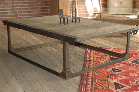Industrial Style Len by Made Industrial Coffee Table By Tecklenburg Design