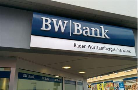 bw bank bad cannstatt öffnungszeiten umbau bei bw bank mehr als jede vierte stelle wird