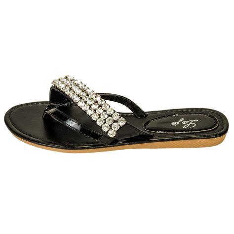 Rhinestone Flip Flops s rhinestone flip flop sandals ebay