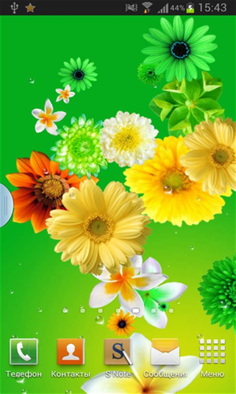 wallpaper flower live flowers live wallpaper android download