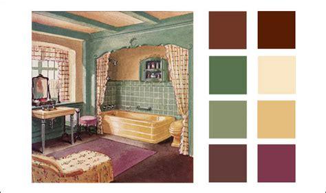 1930 crane bathroom american residential interiors vintage color schemes