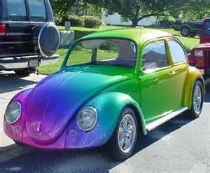 new paint car vw beetle so paint fits the cars