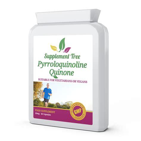 supplement pqq pqq pyrroloquinoline quinone 20mg capsules supplement tree