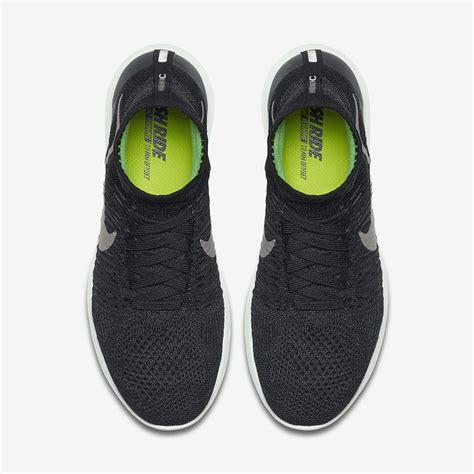 Sepatu Nike Lunarepic Black Premium nike lunarepic flyknit mens black metallic pewter barely green running shoes wholesale uk