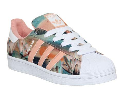 adidas superstar 2 dust pink farm print shoes adidas sneakers adidas superstar trainers y