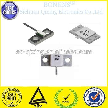 Flange 150nb 50 Ohm 150w rig resistor rf resistor 150w 100ohm power resistor buy