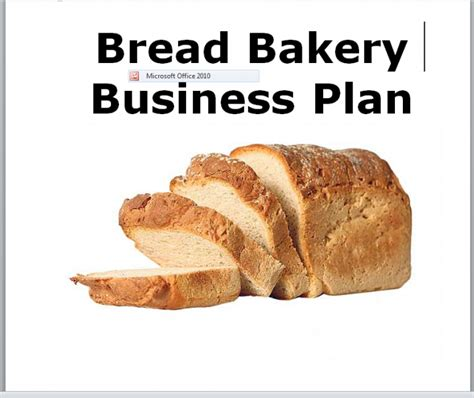 bakery business plan income44