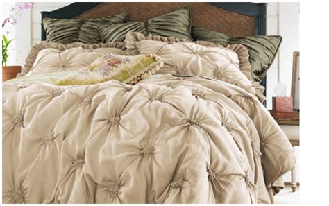 Lombardi Smocked Coverlet bedding home soft surroundings
