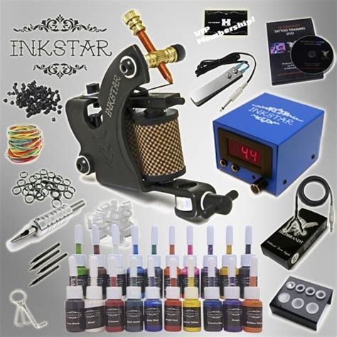 tattoo starter kits kit inkstar venture c kit with truecolor 20 ink set