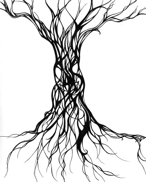tree women by aramyt on tree drawing at getdrawings free for personal
