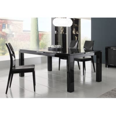 Rossetto Dining Table Rossetto Dining Table Black Lacquer