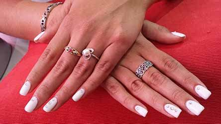 Ongle Gel Blanc by Ongle Blanc Gel Deco Ongle Fr