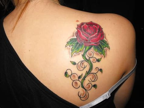 feminine rose tattoos feminine images designs