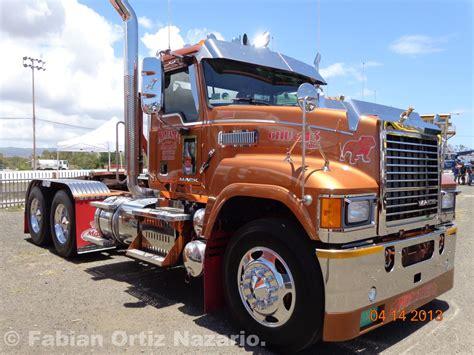 truck show salinas puerto rico  mack domination modern mack truck general