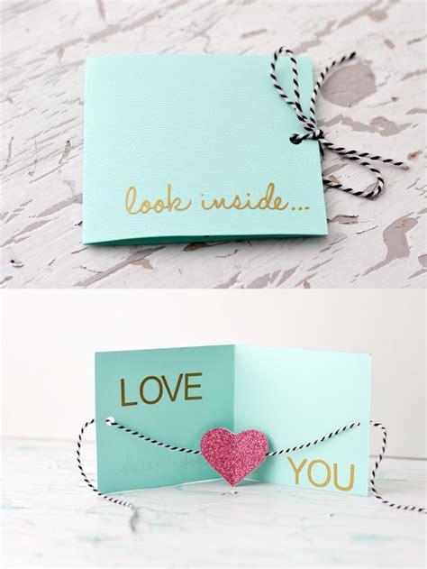 card diy diy valentine s day card 187 inspiration