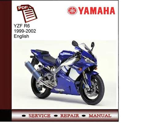 pay for yamaha yzf r6 99 02 workshop service manual