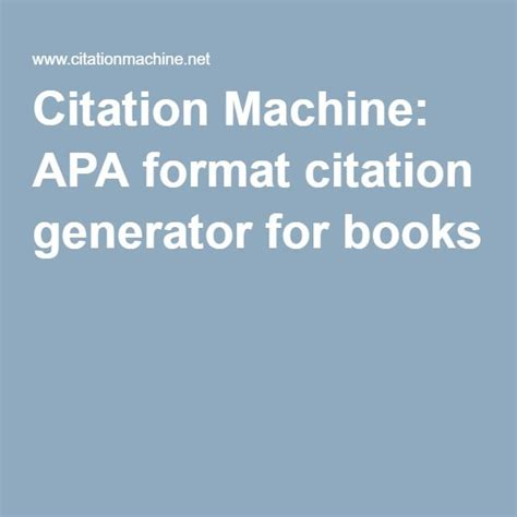 reference machine apa style book 17 best ideas about apa format website on