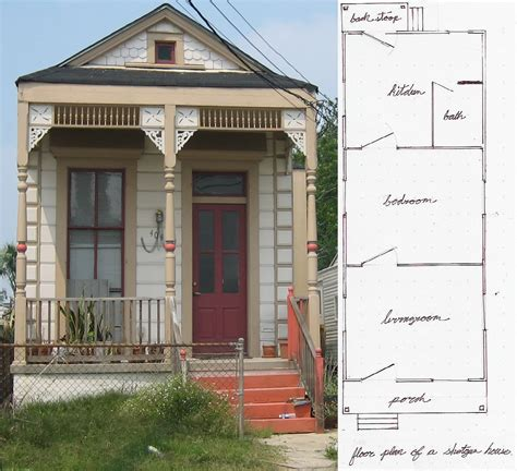 shotgun house plan shotgun houses the tiny simple house