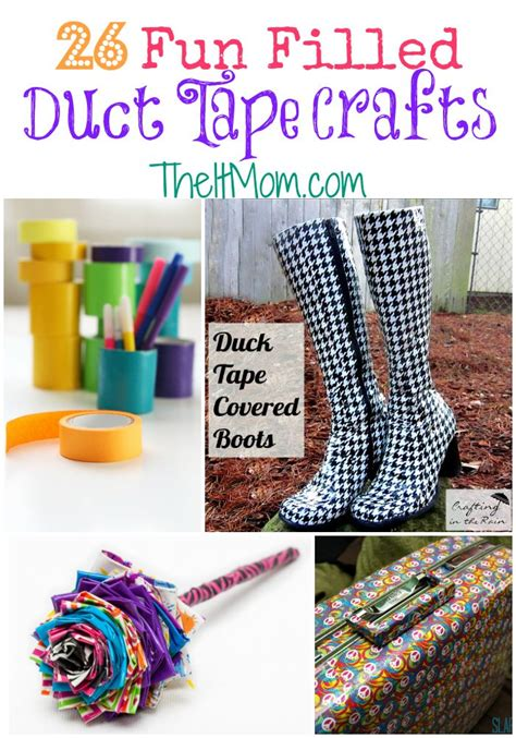 duct crafts 26 easy duct crafts for the it