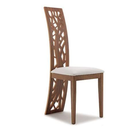 sedia design legno issa sedia design in legno con schienale lavorato
