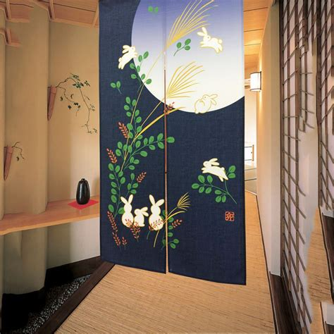 hanging door curtain japanese style noren door curtain traditional doorway