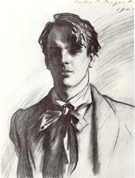 B W Sketches by Poets Corner William Butler Yeats Michael Robartes