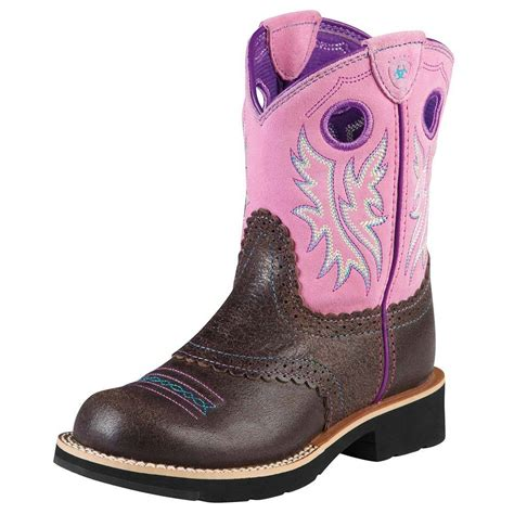 children s cowboy boots ariat childrens fatbaby western boots