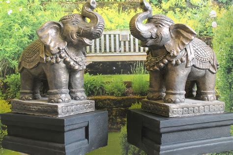 Home Decor Buddha Statue elephant ornaments uk popular elephant garden sculpture