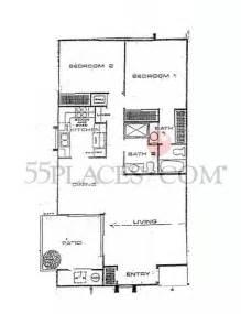 huntington floor plan pacifica floorplan 1132 sq ft huntington landmark