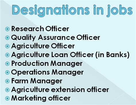 Salary After Mba In Agribusiness by What Are The Best Ways To Go After An Agricultural Bsc
