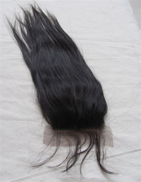 human hair lace closure human hair pieces swiss lace closures straight swiss